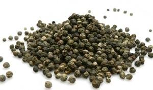 Graines de poivre vert