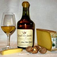 Vin jaune comté et noix