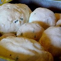 Légumes rôtis en croûte de sel
