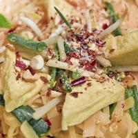 Salade avec pousses de soja