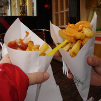 Frites à emporter