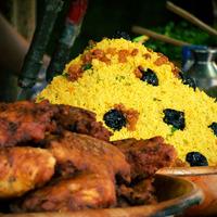 Couscous et poulet