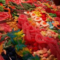 Friandises sur un marché