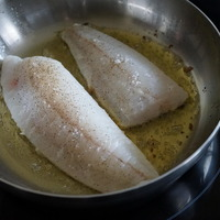 Filets de turbot sautés