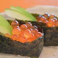 Sushi d'oeufs de poisson