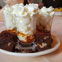 Dessert chocolat crème fouettée
