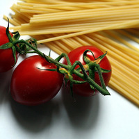 Spaghetti et tomates