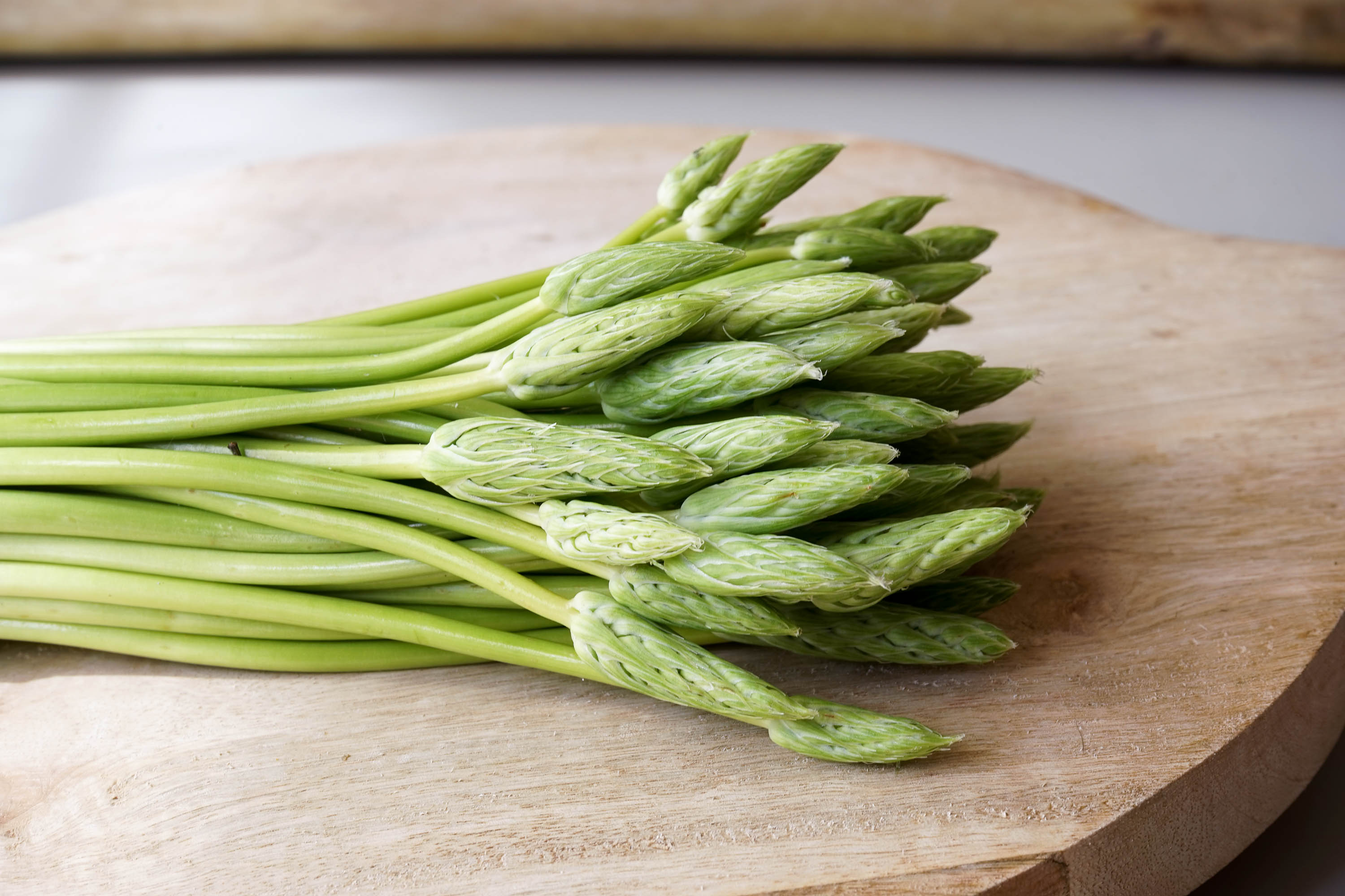 Wild asparagus recipes
