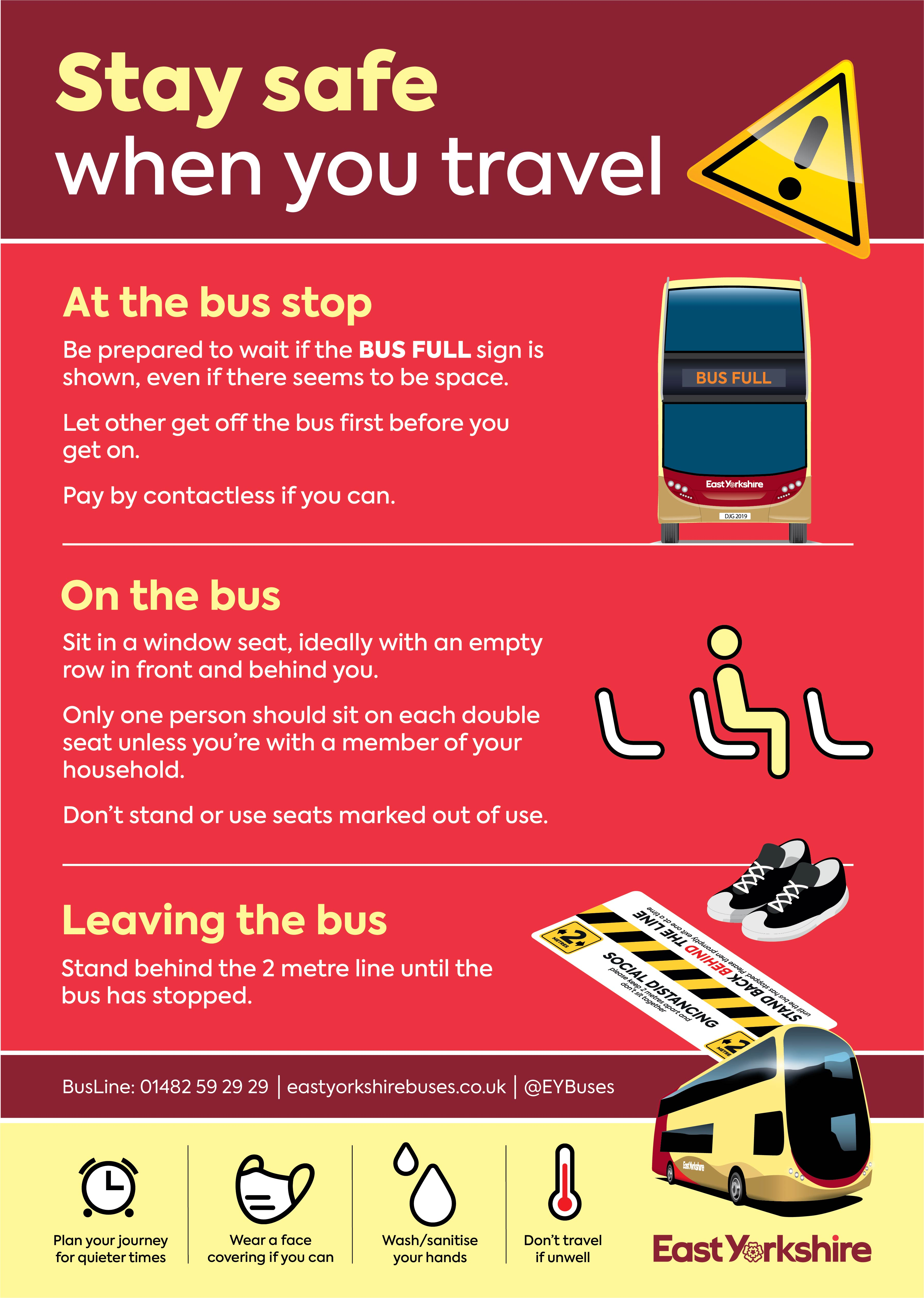 Staying safe when travelling