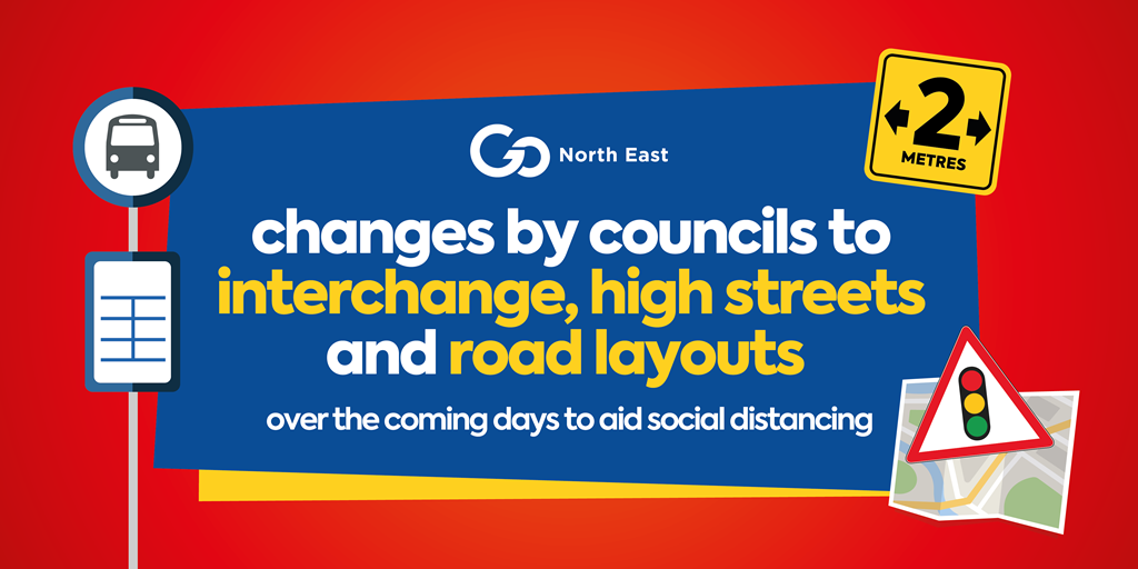Changes to interchange, high street and road layouts