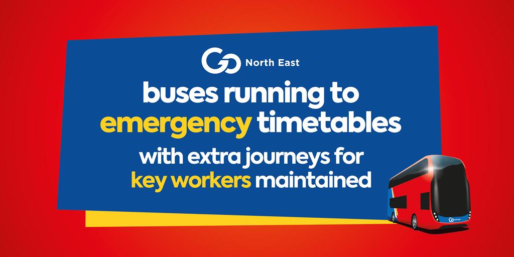 Coronavirus - emergency timetables