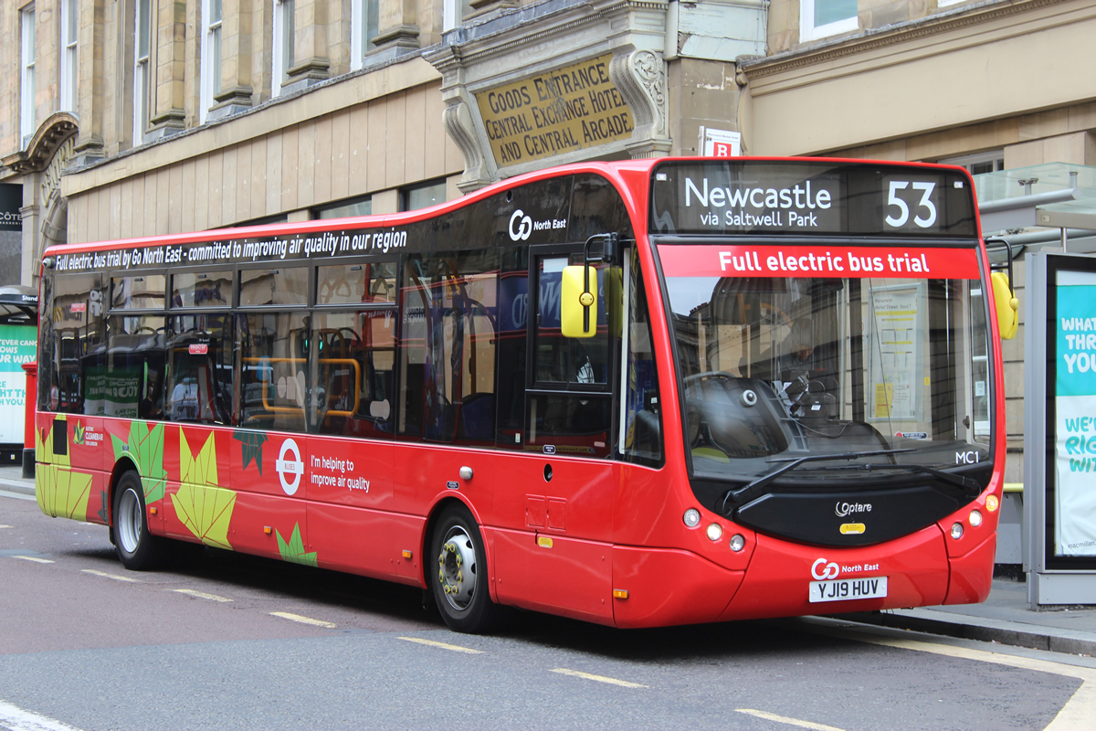 Electric bus trial