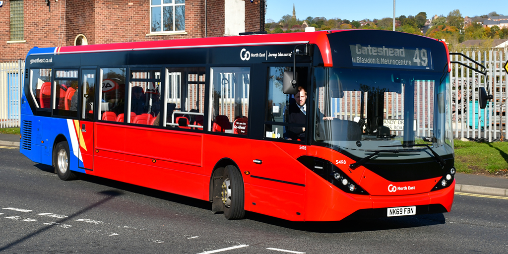 Go North East bus