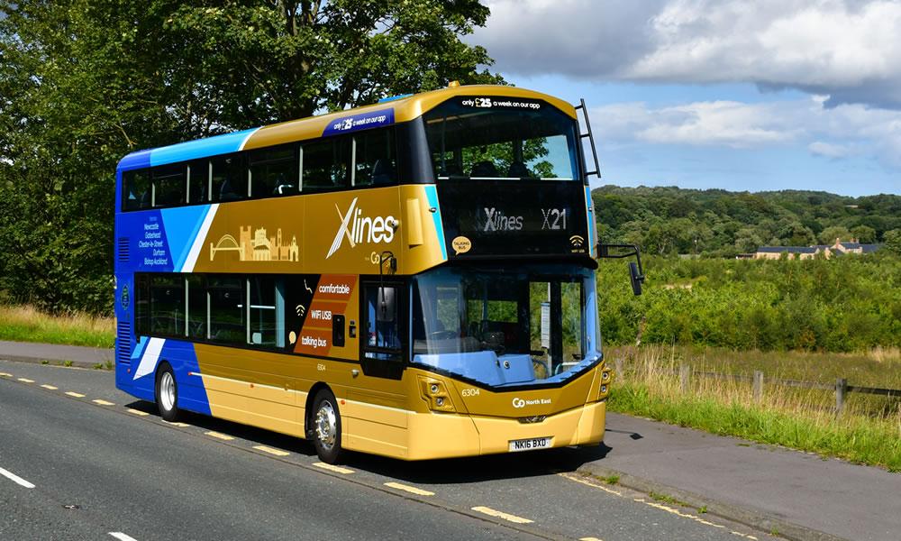 X-lines X21 bus
