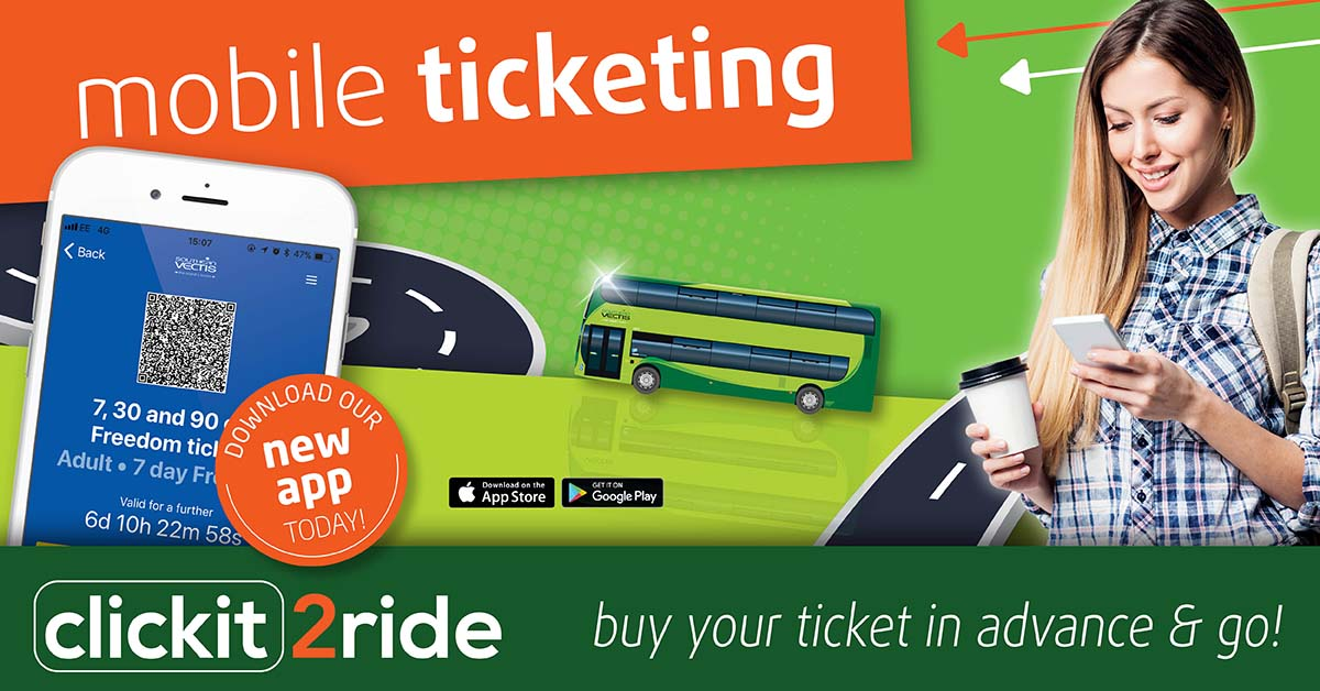 Clickit2ride - The Southern Vectis Mobile App