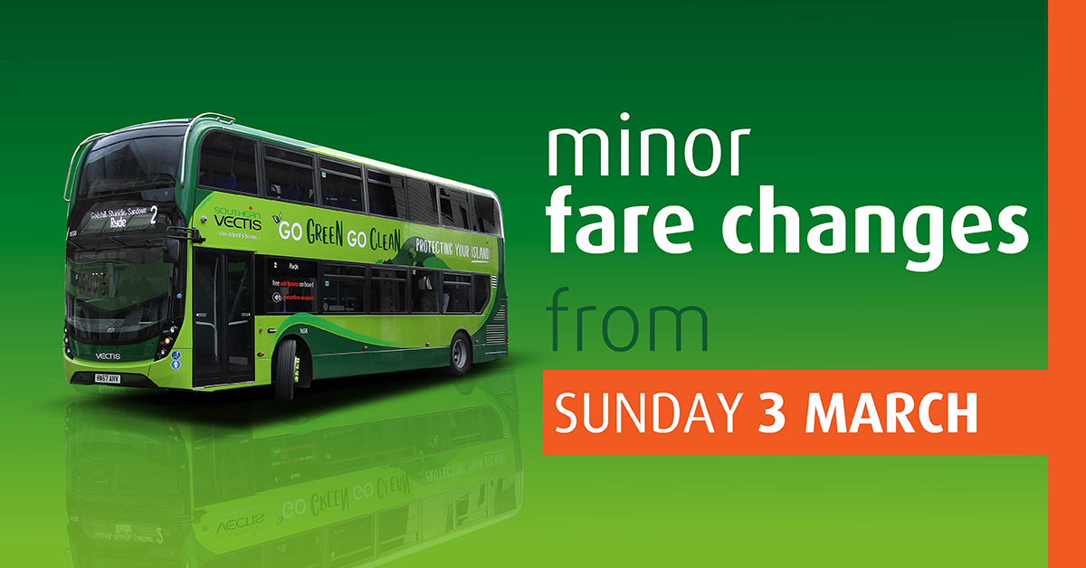 Changes to our multiple day fares – 3rd March 2019