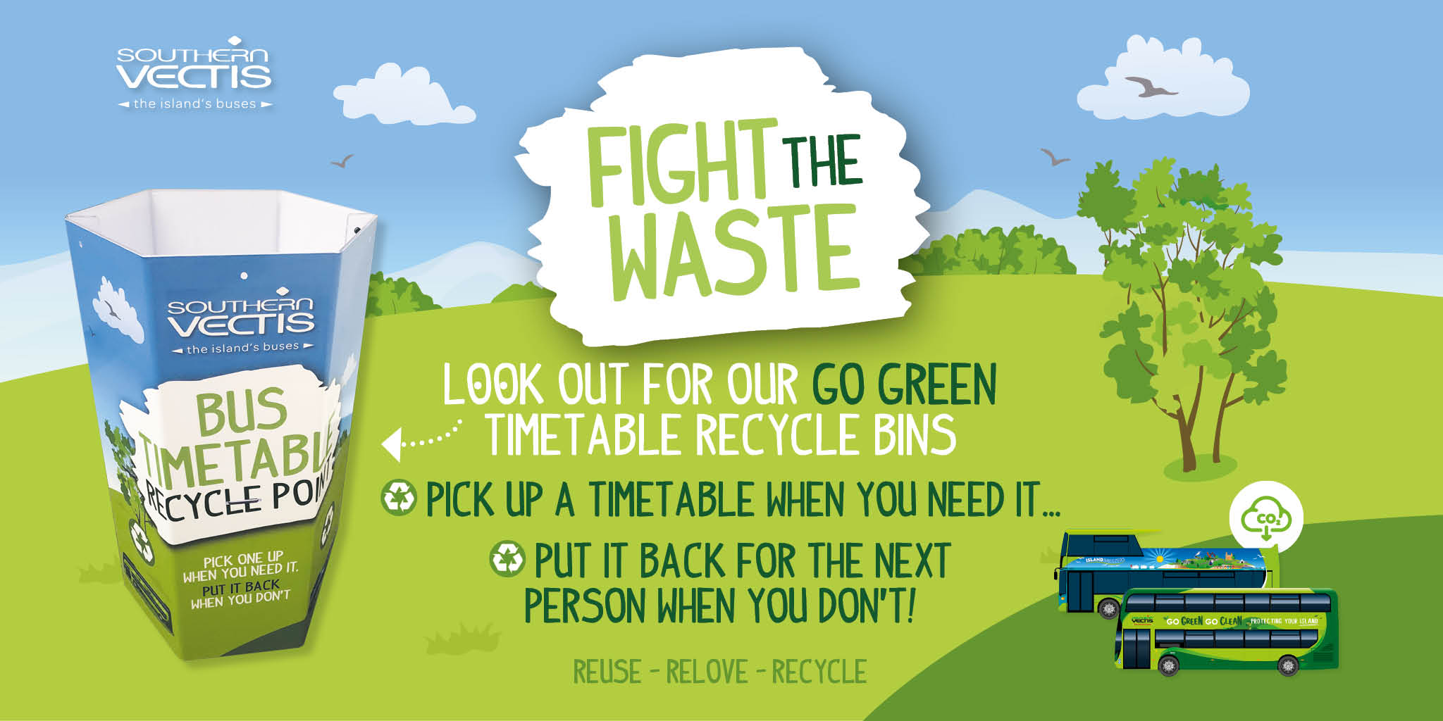 FIGHT THE WASTE
