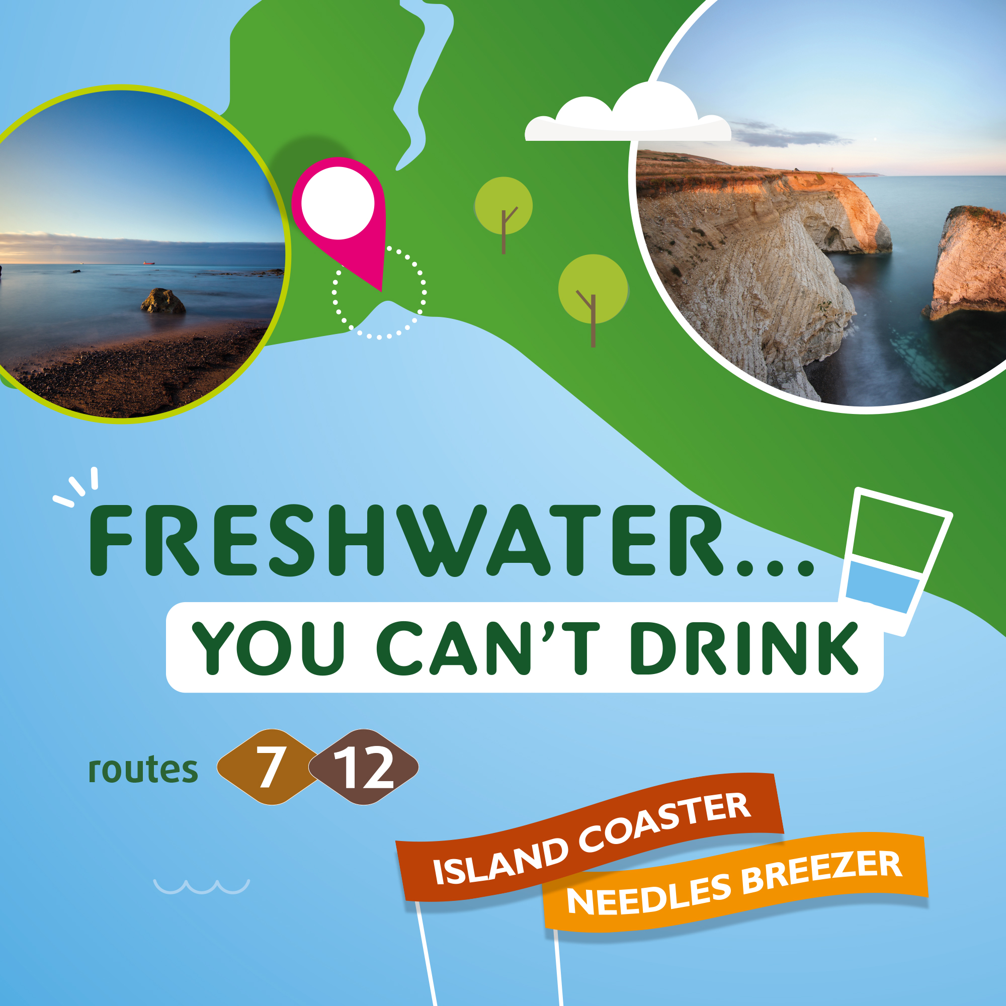 Illustration of Freshwater you can't drink