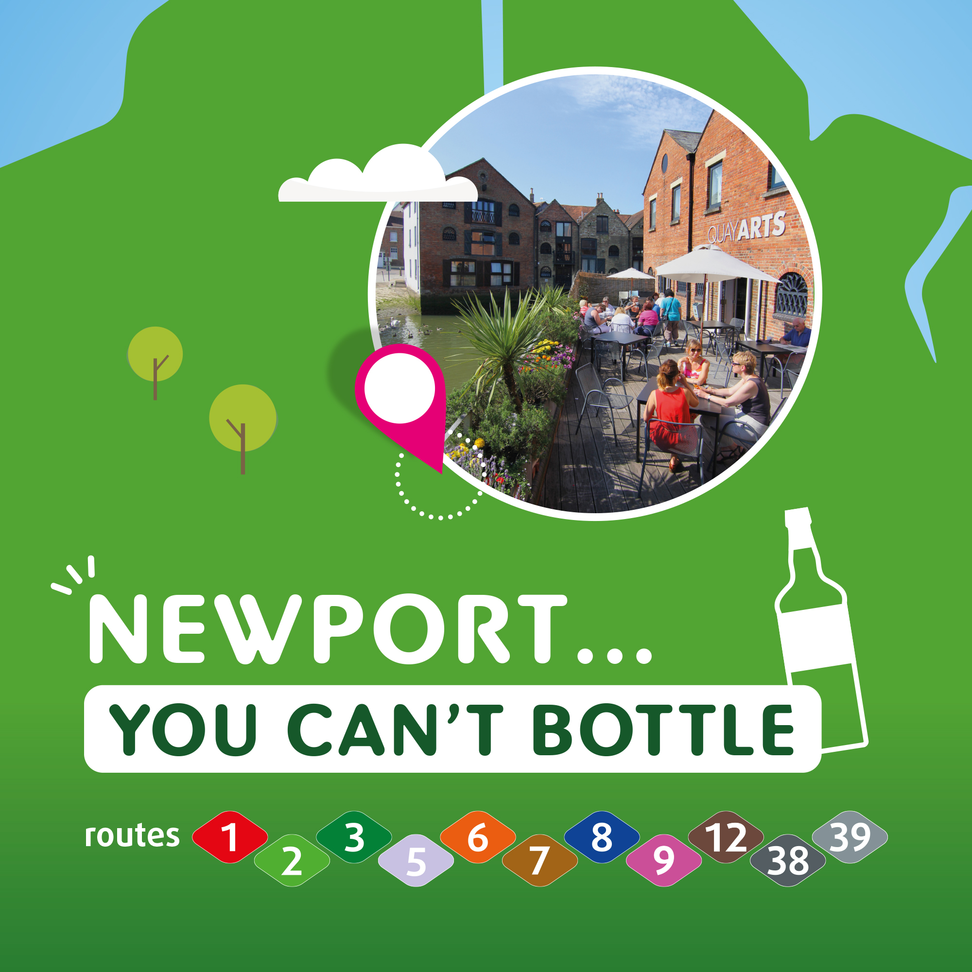 Illustration of Newport you can't bottle