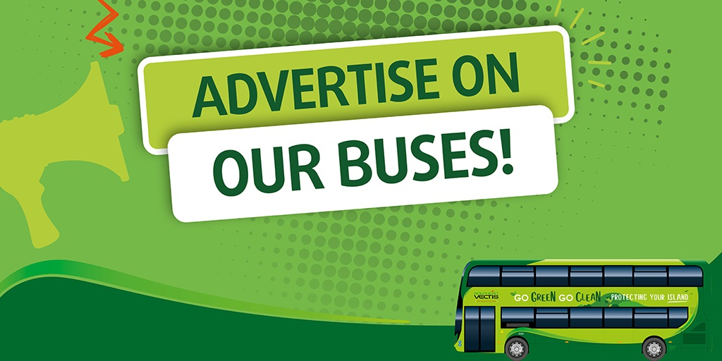 Southern Vectis advertise on our buses