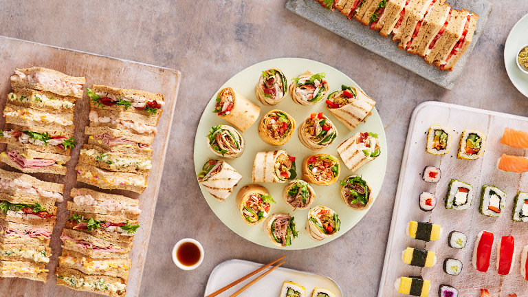 Sandwiches Sushi Wraps Sainsburys Food To Order