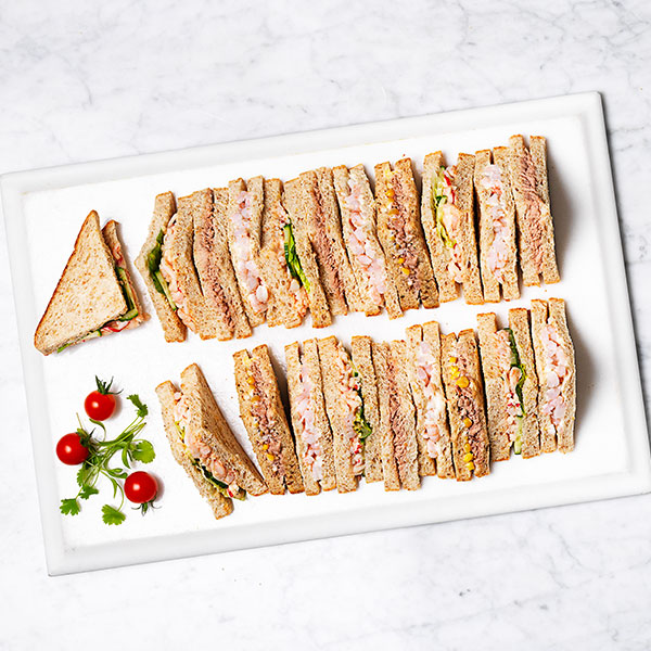 Fish Sandwich Platter By Sainsburys Available Until 30 November