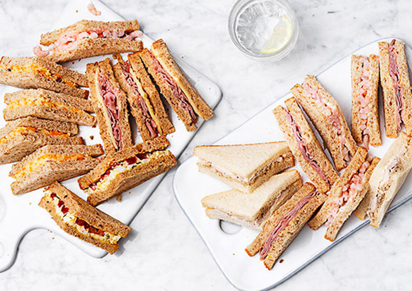 Classic Sandwich Platter By Sainsburys Available Until 30 November