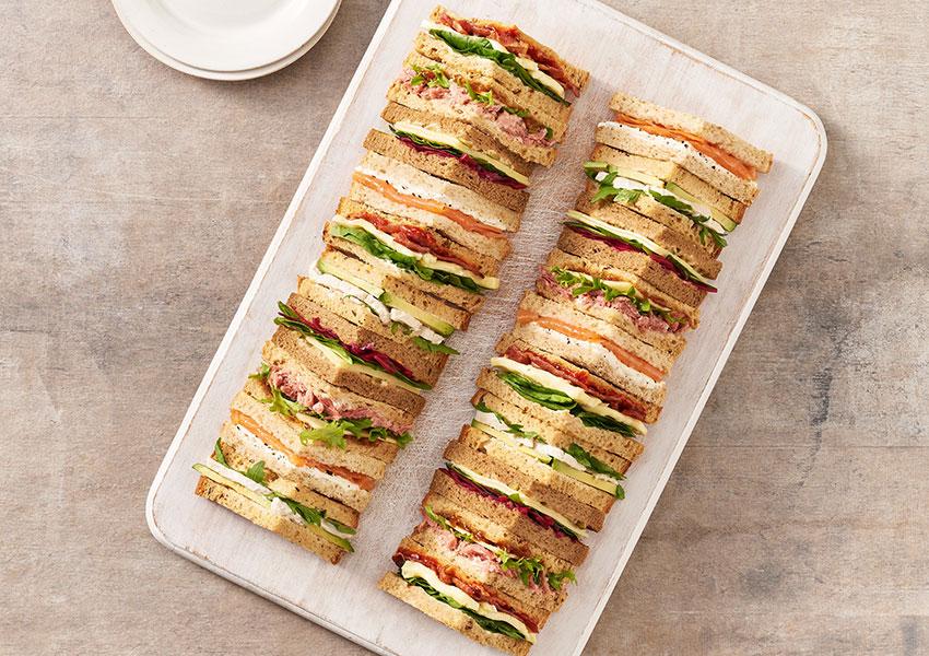Premium Sandwich Platter 20 Quarters