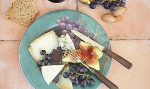 Composer un plateau de fromage idéal  par Valérie du blog 1,2,3...Dégustez !