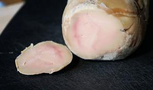 Foie gras frais entier au sel