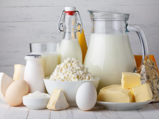 Oeufs et produits laitiers