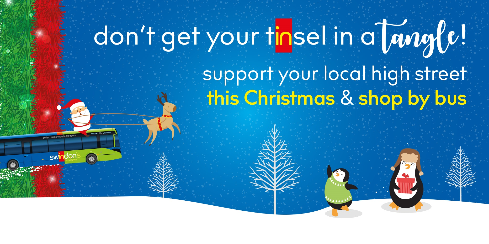 Swindon Bus Support Local Shops This Christmas