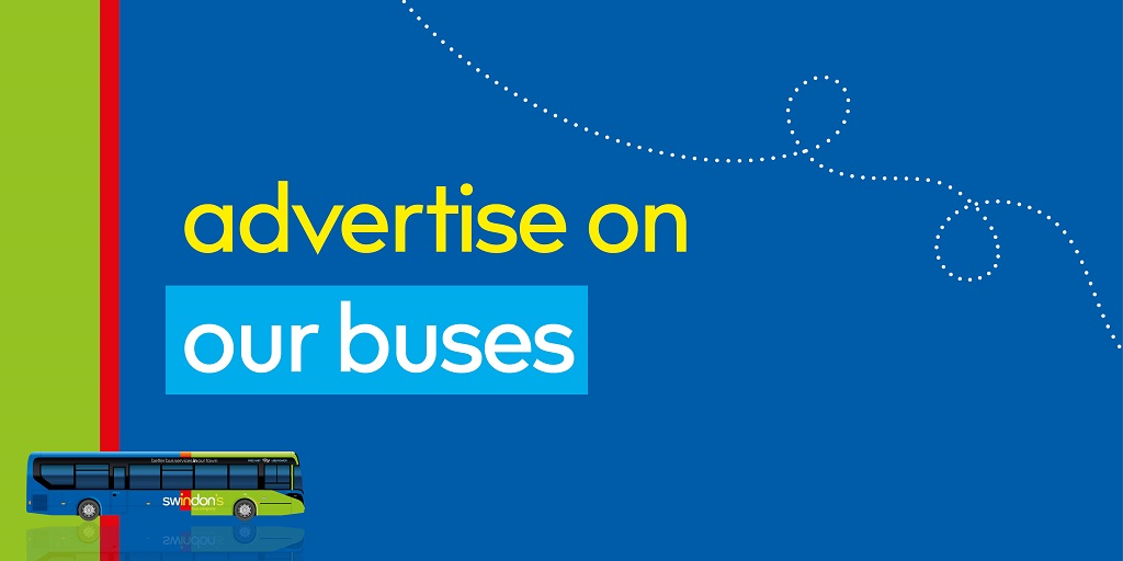 Swindon's Bus Company - advertise on our buses