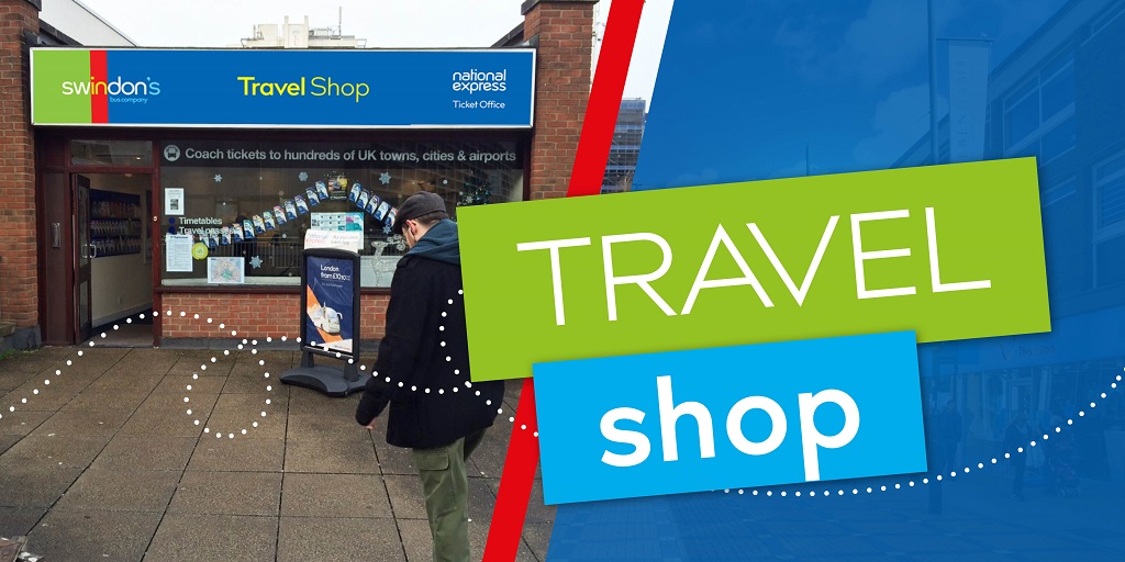 Swindon Bus travel shop