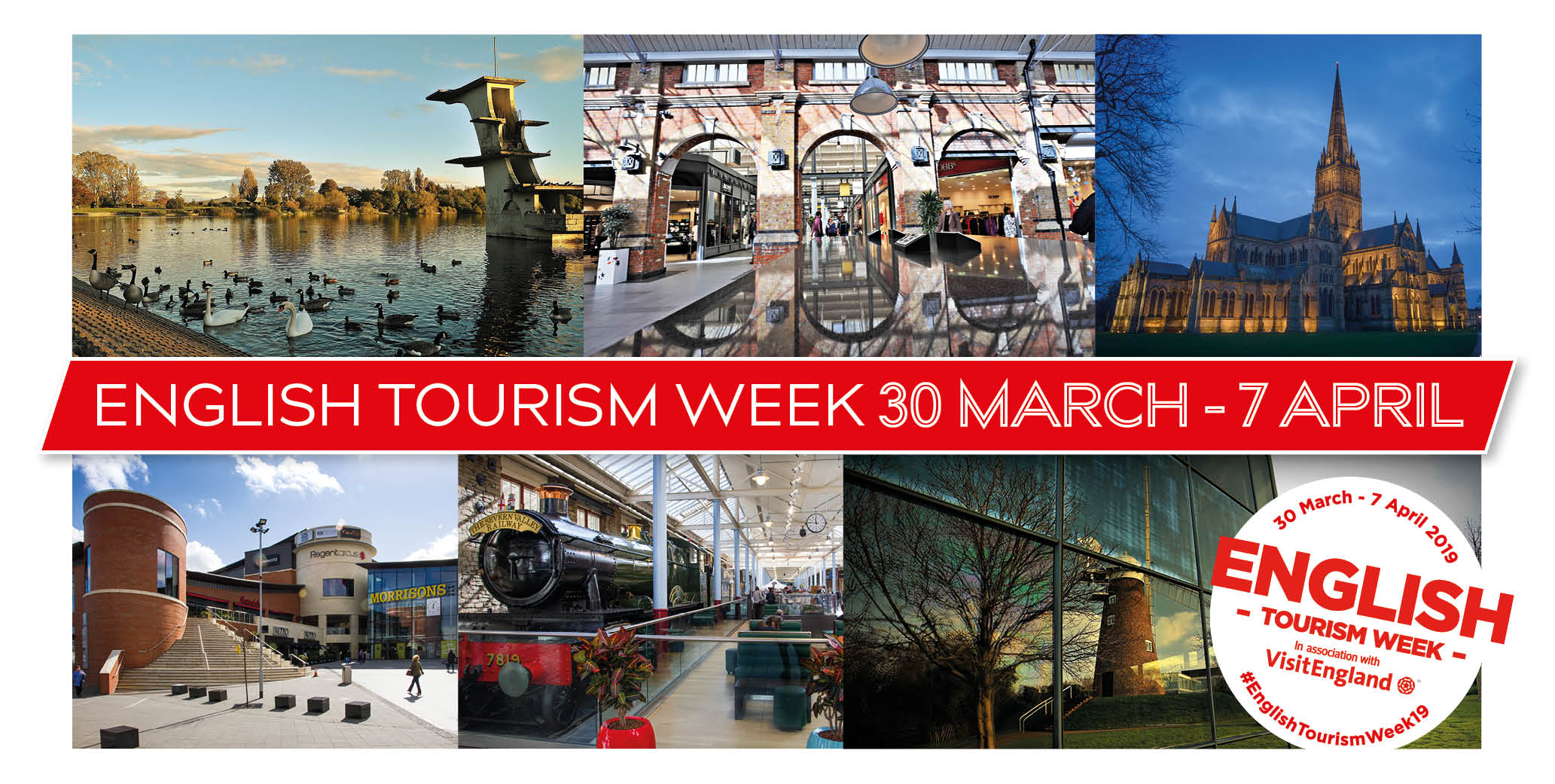 English tourism week - 30th March - 7th April