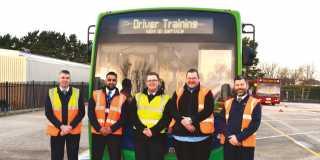 Trainee bus drivers