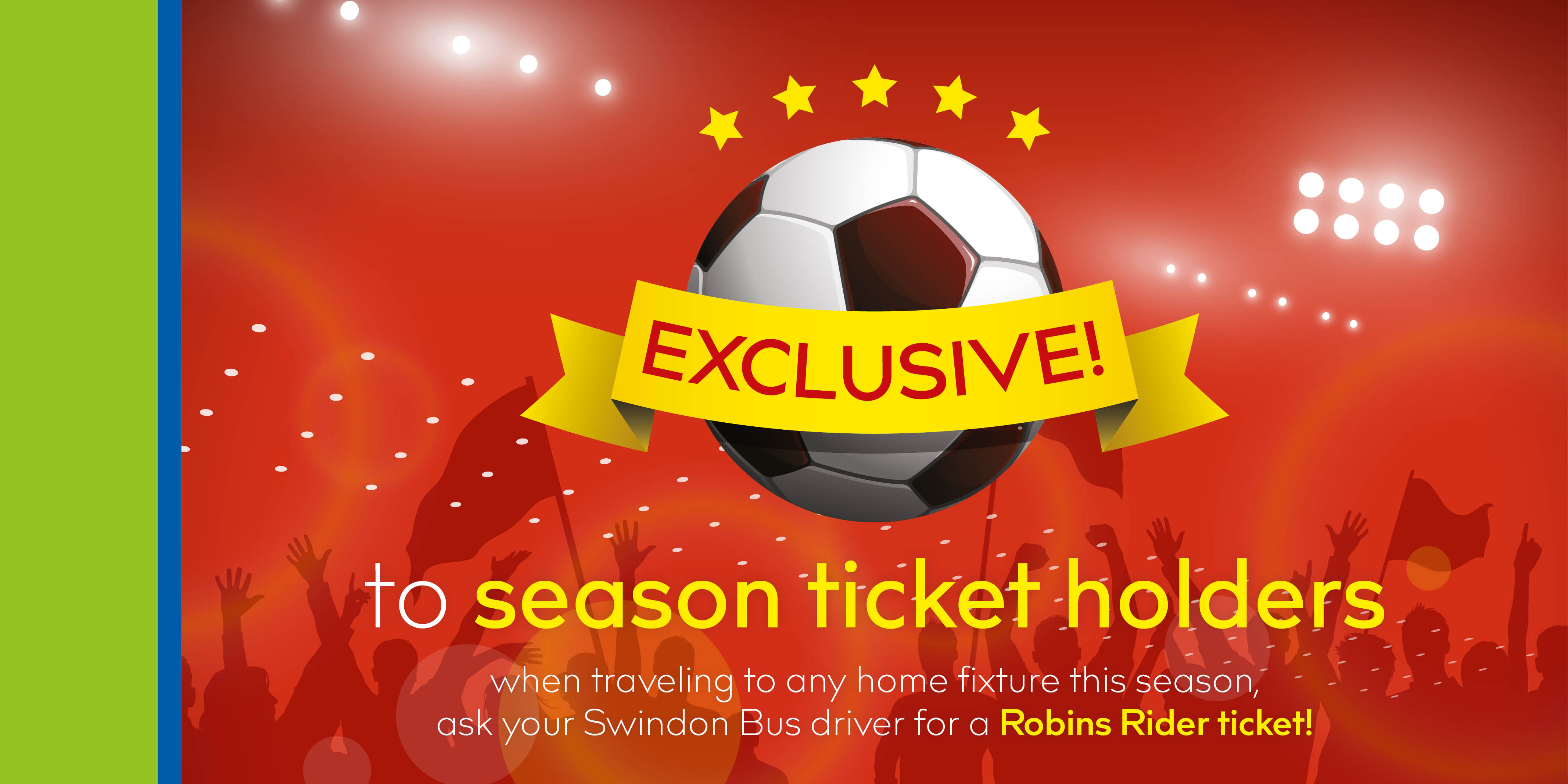 Robins Rider home game bus ticket