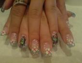 model glitter&butterfly