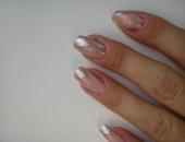 Modele unghii argintiu