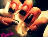 Modele unghii Black