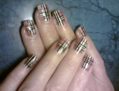 model burberry nails