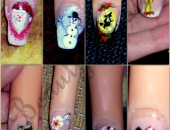 Modele unghii Diverse nail art