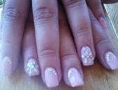 Modele unghii roze