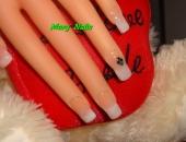 Modele unghii white