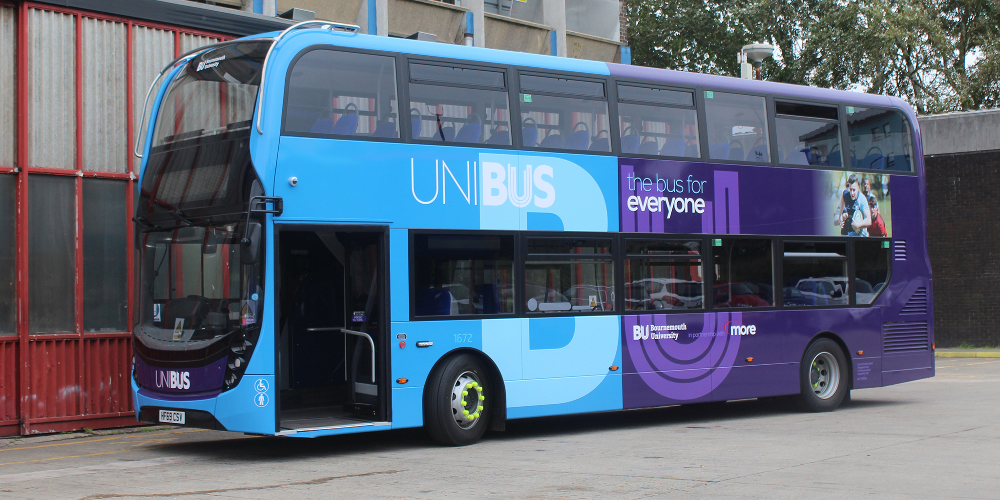 Photo of new UNIBUS vehicle