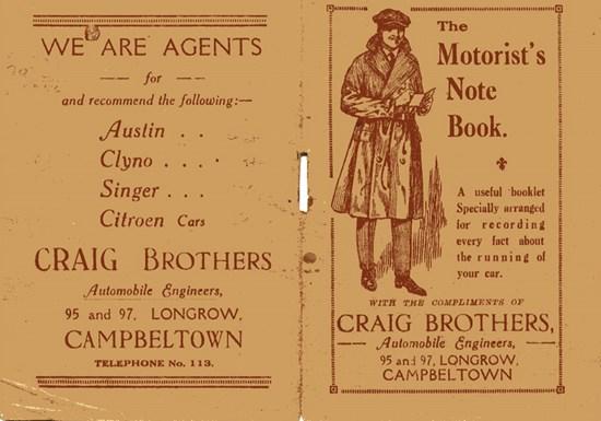 advertisement of Jack Craig