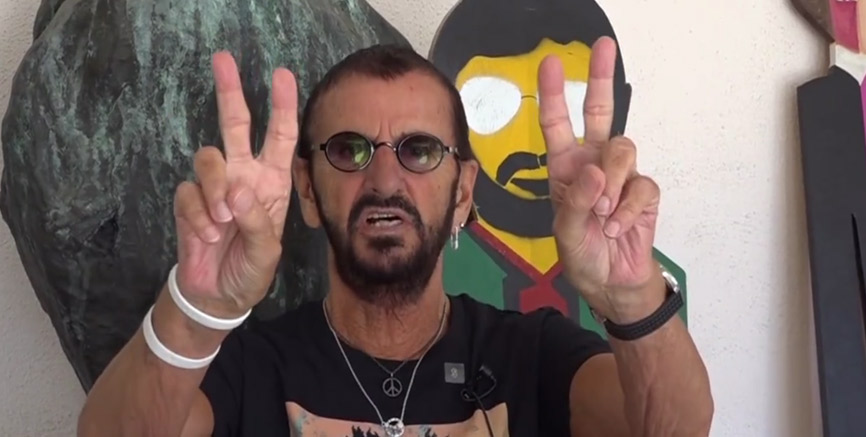 Abbey Road Studios join Ringo Starr's annual Peace & Love Birthday Event