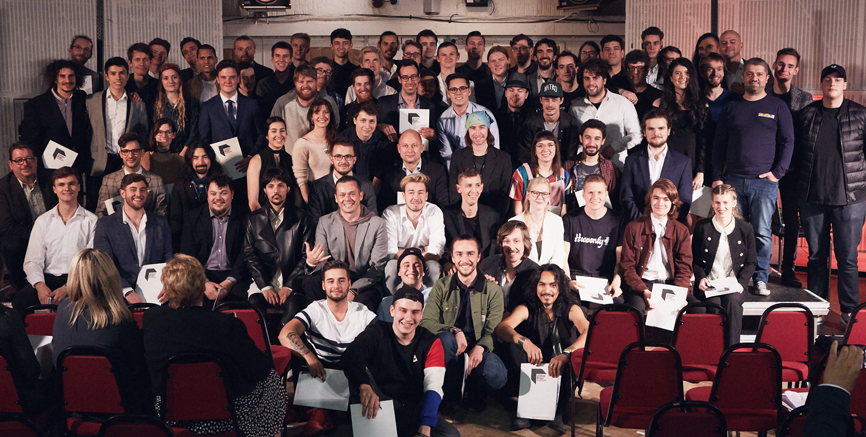 Abbey Road Institute students from around the world graduate in the studios