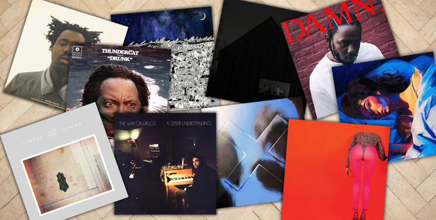 The Best Albums of 2017: As Decided by the UK Music Press