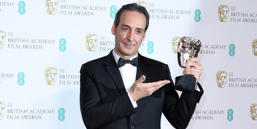 Alexandre Desplat's Score for The Shape of Water wins big at the BAFTAs